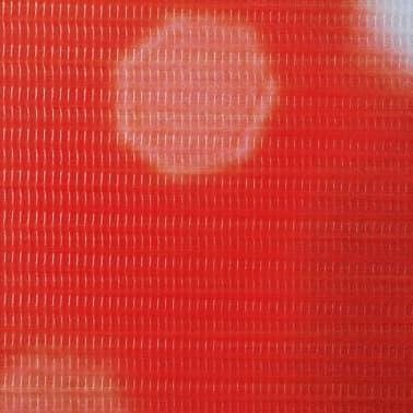 vidaXL Kambario pertvara, sulankstoma, 160x170cm, raudona rožė[4/5]