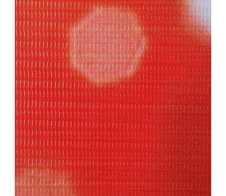 vidaXL Zložljiv paravan 228x180 cm rdeča vrtnica[4/5]