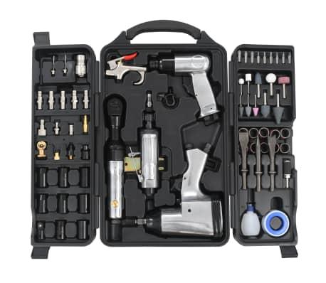 vidaXL 70 Piece Air Tool Kit