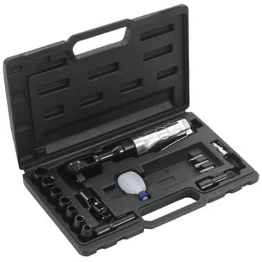 """vidaXL Kit de clé à cliquet pneumatique 1/2"""" 16 pcs[1/7]"""