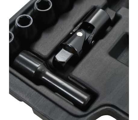 """vidaXL Kit de clé à cliquet pneumatique 1/2"""" 16 pcs[4/7]"""