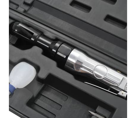 """vidaXL Kit de clé à cliquet pneumatique 1/2"""" 16 pcs[6/7]"""