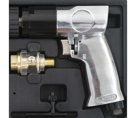 """vidaXL Pneumatisk borrmaskin kit 15 delar 3/8""""[5/6]"""
