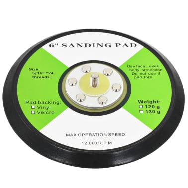 vidaXL Disques abrasifs 3 pcs 150 mm[4/6]