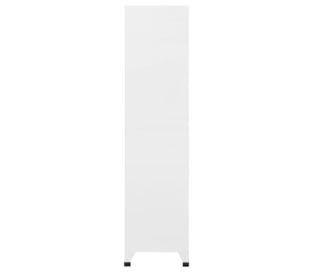 vidaXL Dulap de vestiar cu 18 compartimente, metal, 90x40x180 cm[4/6]