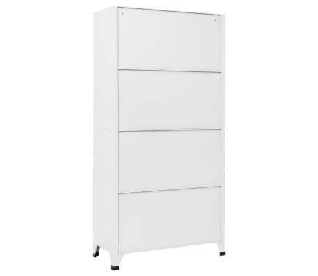 """vidaXL Locker Cabinet with 18 Compartments Metal 35.4""""x15.7""""x70.9""""[5/6]"""