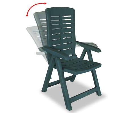 Vidaxl Gartenstuhl Verstellbar Kunststoff Klappstuhl Stuhl Mehrere