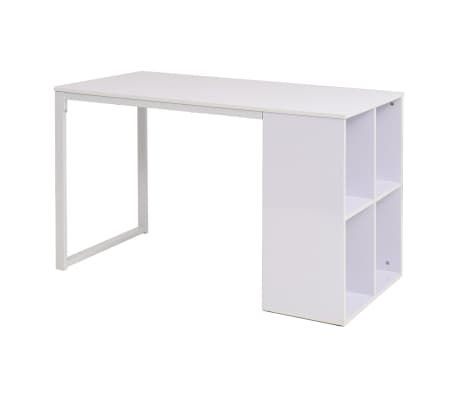 vidaXL Writing Desk 120x60x75 cm White[1/7]