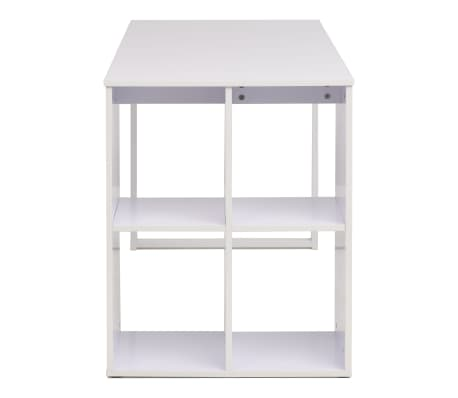vidaXL Writing Desk 120x60x75 cm White[4/7]