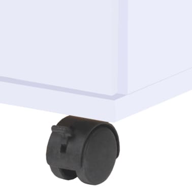 vidaXL Dulap cu sertare, 33 x 45 x 60 cm, alb[4/6]