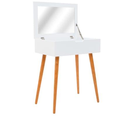 vidaXL Kaptafel met spiegel 60x40x75 cm MDF