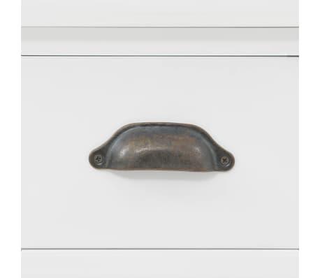 vidaXL Kredens 4-drzwiowy, MDF i drewno sosnowe, 80x40x180 cm[8/10]