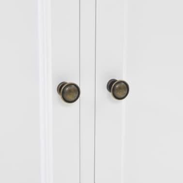 vidaXL Kredens 4-drzwiowy, MDF i drewno sosnowe, 80x40x180 cm[7/10]