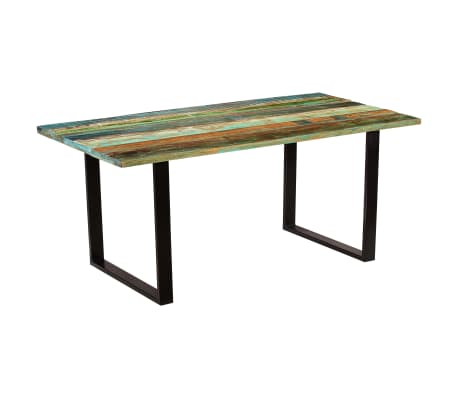 vidaXL Blagovaonski stol od masivnog recikliranog drva 180 x 90 x 77 cm