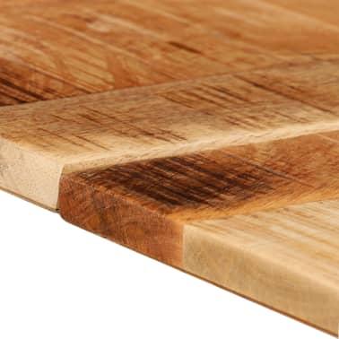 acheter vidaxl table de salle manger bois de manguier brut 180 x 90 x 77 cm pas cher. Black Bedroom Furniture Sets. Home Design Ideas
