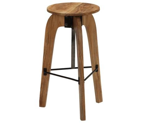vidaXL Barové stoličky 2 ks masívne akáciové drevo 30x(58-78) cm[2/13]