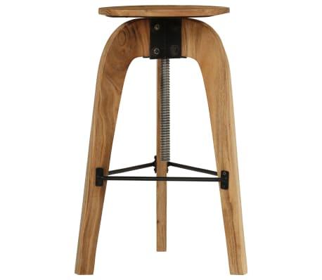 vidaXL Barové stoličky 2 ks masívne akáciové drevo 30x(58-78) cm[3/13]