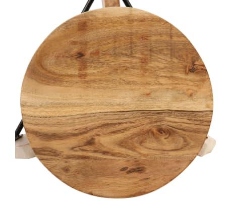 vidaXL Barové stoličky 2 ks masívne akáciové drevo 30x(58-78) cm[4/13]