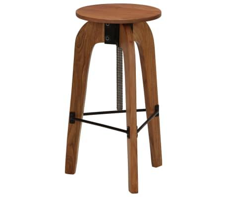 vidaXL Barové stoličky 2 ks masívne akáciové drevo 30x(58-78) cm[10/13]