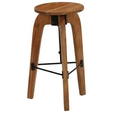 vidaXL Barové stoličky 2 ks masívne akáciové drevo 30x(58-78) cm[11/13]