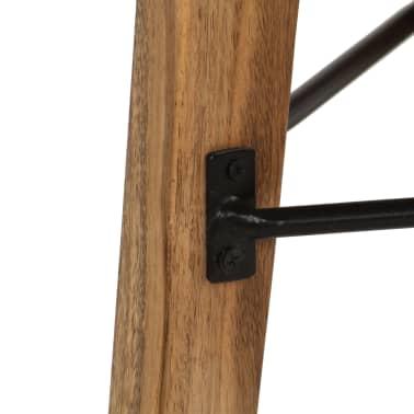 vidaXL Barové stoličky 2 ks masívne akáciové drevo 30x(58-78) cm[7/13]