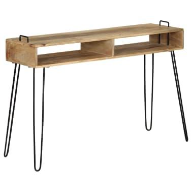 vidaXL Konsolinis staliukas, mango medienos masyvas, 115x35x76cm[11/11]