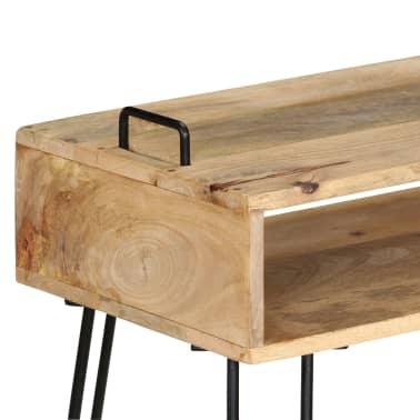 vidaXL Konsolinis staliukas, mango medienos masyvas, 115x35x76cm[4/11]