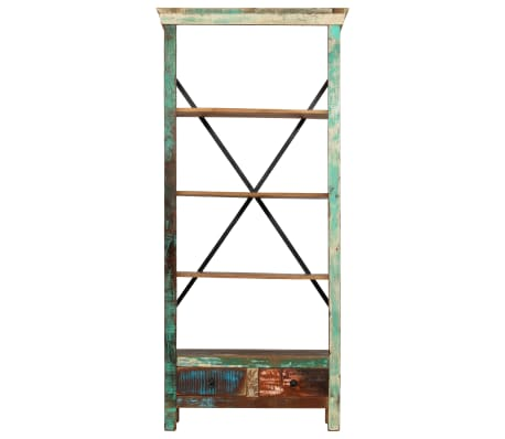 vidaXL Bookcase Solid Reclaimed Wood 80x35x180 cm[3/12]