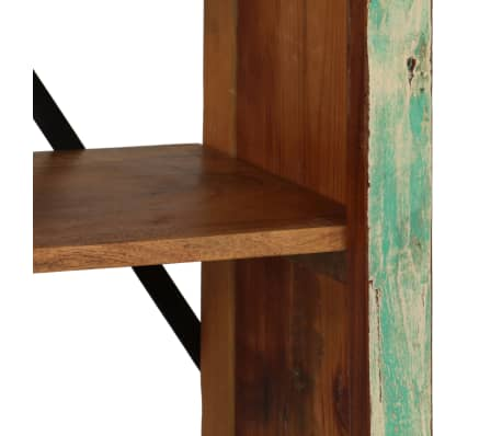 vidaXL Bookcase Solid Reclaimed Wood 80x35x180 cm[6/12]