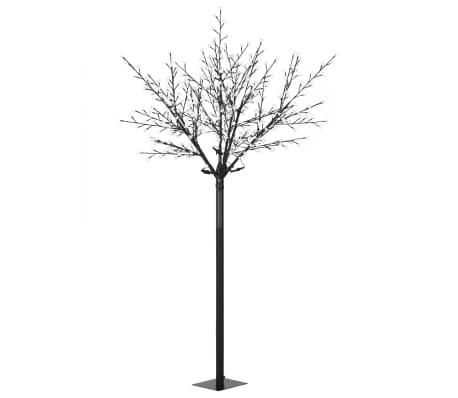 vidaXL LED-Lichterbaum Weihnachten Indoor Outdoor IP44 250 cm Warmweiß[2/8]