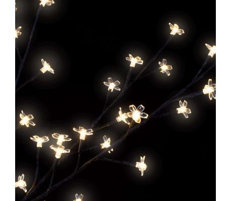 vidaXL LED-Lichterbaum Weihnachten Indoor Outdoor IP44 250 cm Warmweiß[5/8]