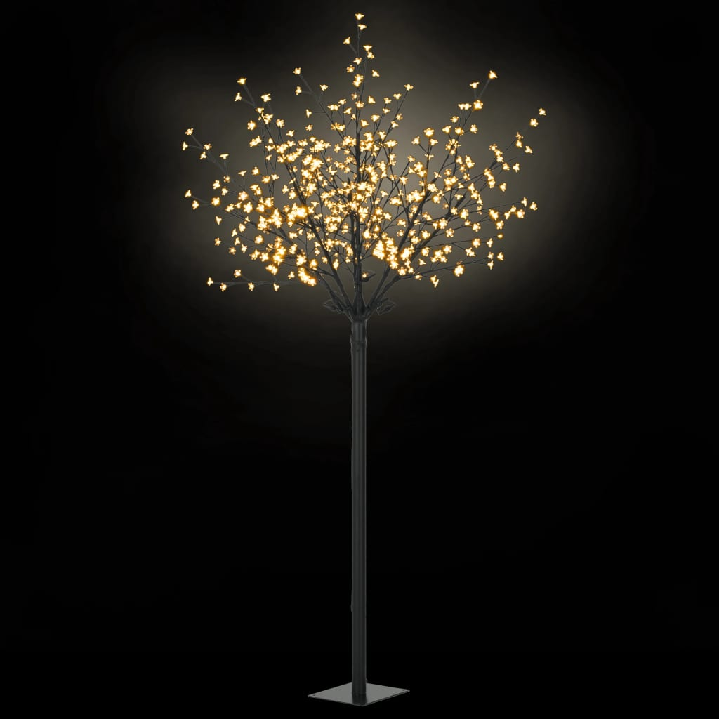 9950690 LED-Lichterbaum Weihnachten Indoor Outdoor IP44 250 cm Warmweiß