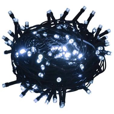 vidaXL Lichterkette 600 LEDs Indoor und Outdoor IP44 60 m Kaltweiß[1/3]