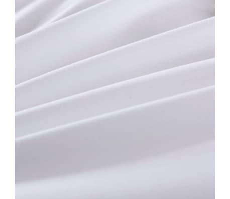 vidaXL Set husă pilotă, 4 piese, alb, 135x200/80x80 cm[2/4]