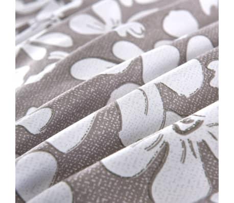 vidaXL Bäddset 4 delar 140x200/60x70 cm blommor[2/4]