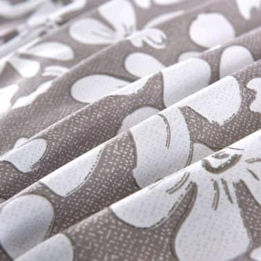 vidaXL Bäddset 4 delar 140x220/60x70 cm blommor[2/4]