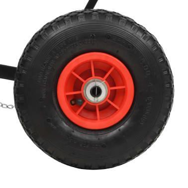 vidaXL manuel snerydder med hjul 100 x 44 cm[5/5]