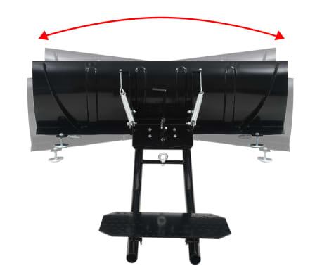 vidaXL Schneepflug zur ATV-Montage 120 x 38 cm Schwarz[4/11]