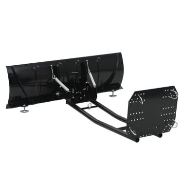 vidaXL Schneepflug zur ATV-Montage 120 x 38 cm Schwarz[2/11]