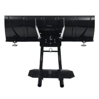vidaXL Schneepflug zur ATV-Montage 120 x 38 cm Schwarz[3/11]