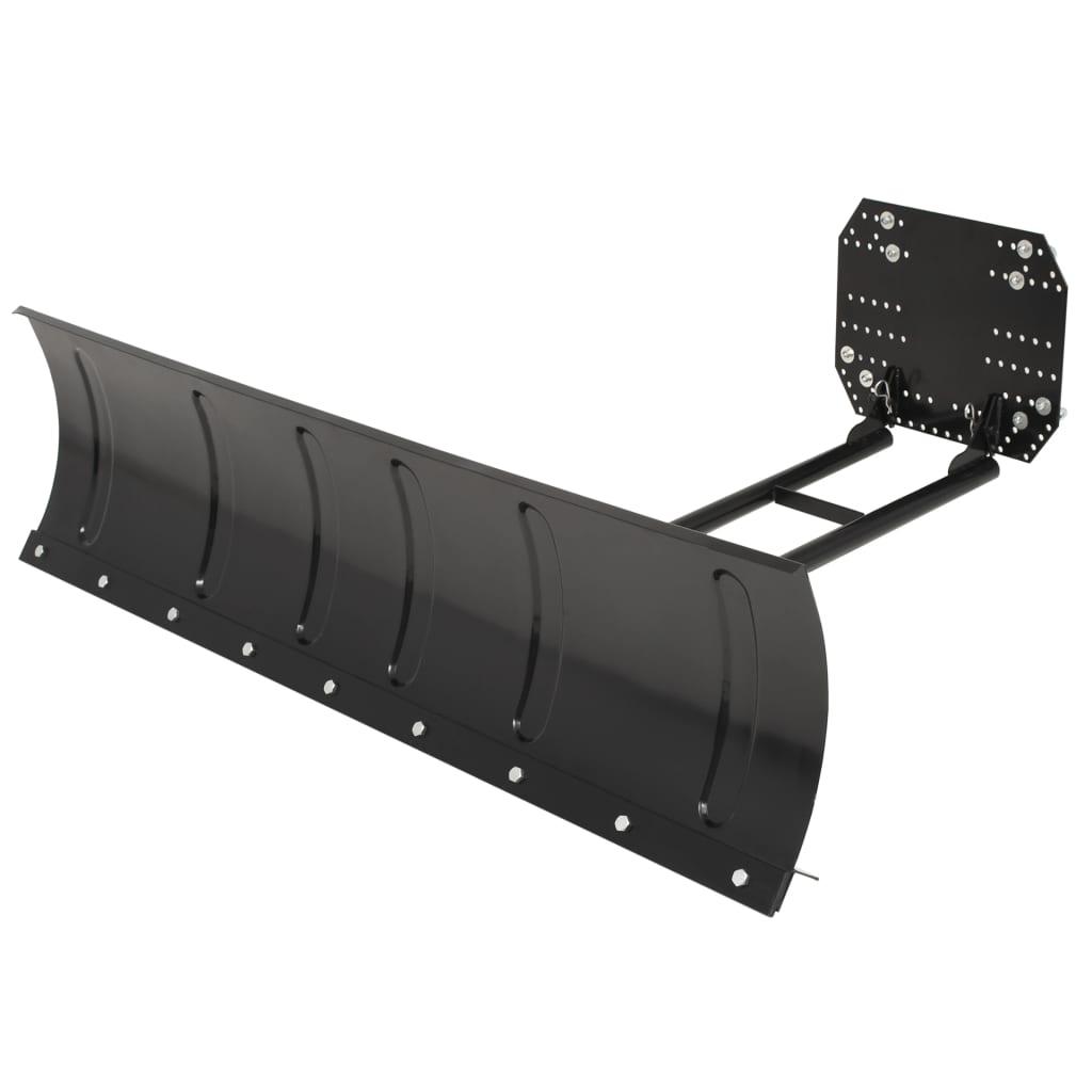 Afbeelding van vidaXL Sneeuwploeg voor ATV 150x38 cm zwart