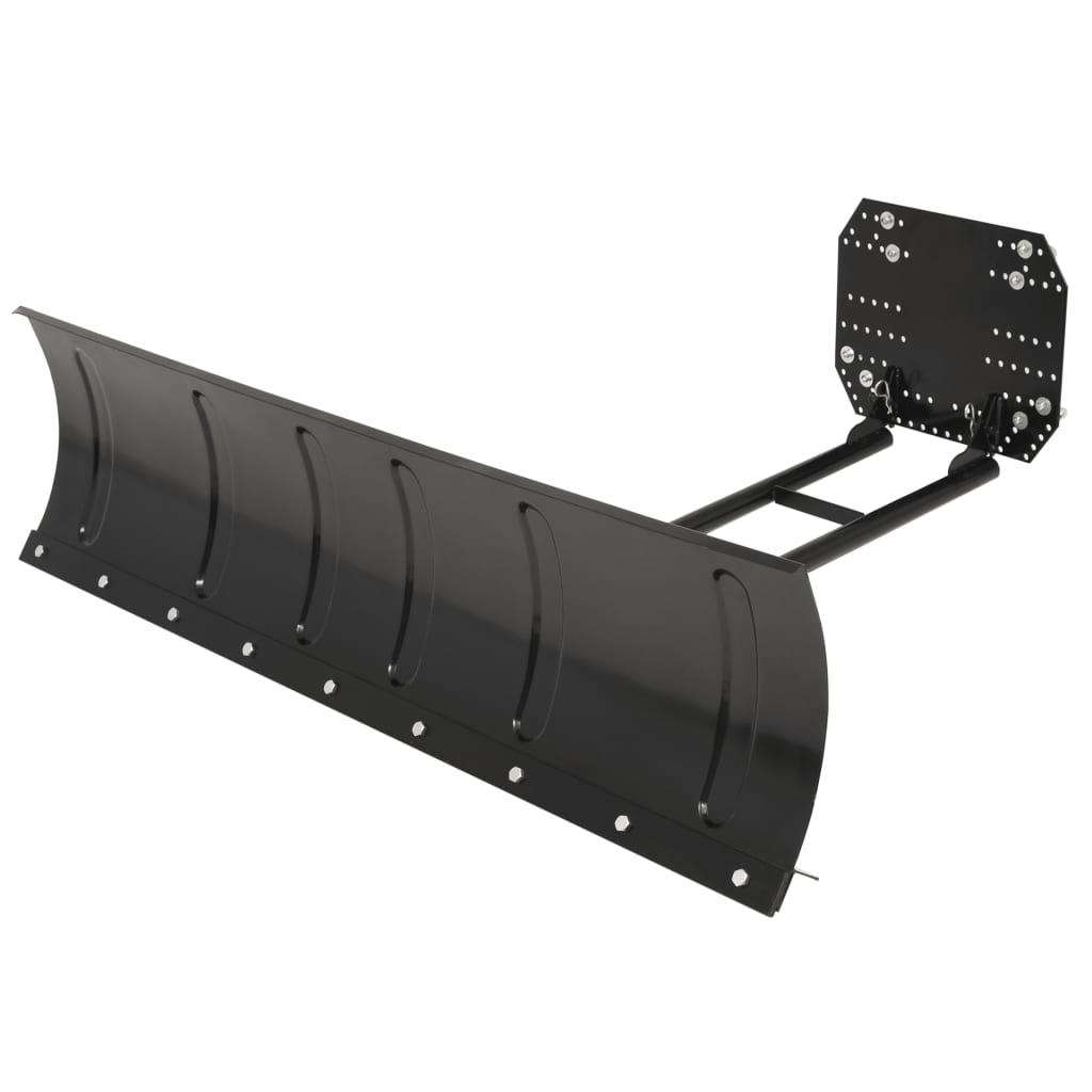 vidaXL Sněžný pluh pro ATV 150 x 38 cm černý
