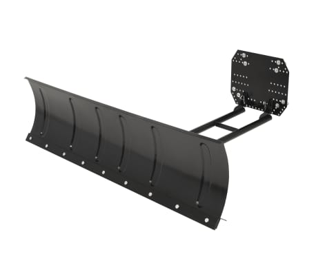 "vidaXL Snow Plough for ATV 59.1""x15"" Black"