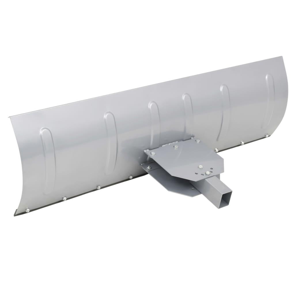 Afbeelding van vidaXL Sneeuwploeg voor ATV 150x44 cm zilver