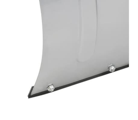 vidaXL Chasse-neige pour VTT 150 x 44 cm Argenté[7/8]
