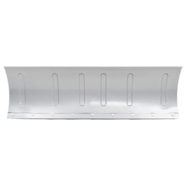 vidaXL Chasse-neige pour VTT 150 x 44 cm Argenté[2/8]