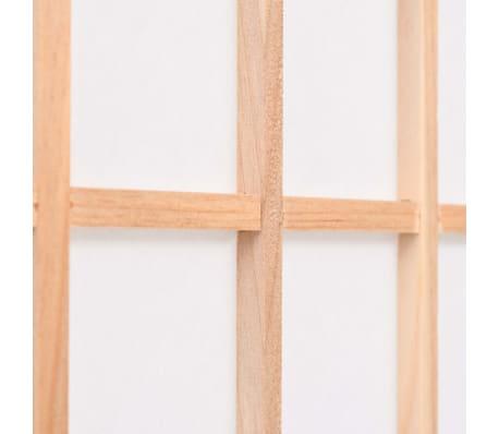 "vidaXL Folding 5-Panel Room Divider Japanese Style 78.7""x66.9"" Natural[5/6]"