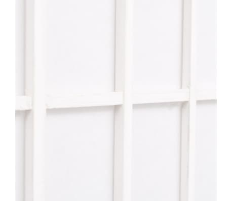 "vidaXL Folding 3-Panel Room Divider Japanese Style 47.2""x66.9"" White[5/6]"