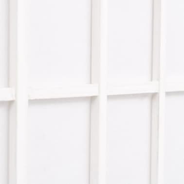 "vidaXL Folding 4-Panel Room Divider Japanese Style 63""x66.9"" White[5/6]"