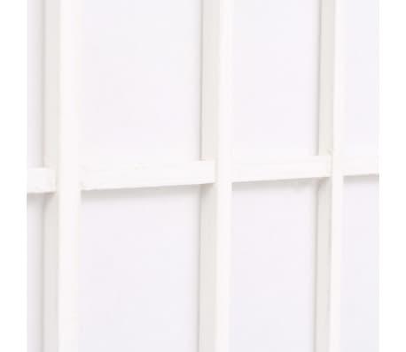 "vidaXL Folding 5-Panel Room Divider Japanese Style 78.7""x66.9"" White[5/6]"